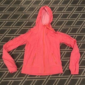 Lululemon Neon Light Athletic Jacket with Hood